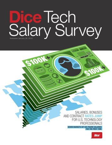 Dice Tech Salary Survey