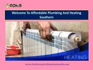 Plumbing & Heating Bournemouth Poole|Affordable Plumbing