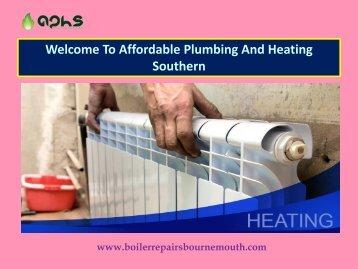 Plumbing & Heating Bournemouth Poole Affordable Plumbing
