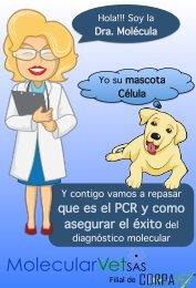 Que es PCR y como asegurar el éxito del dx molecular, MOLECULARVET-CORPAVET