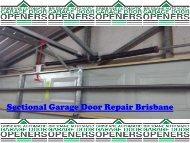 Sectional Garage Doors Repair Brisbane