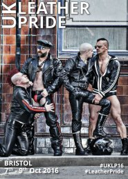 UK Leather Pride 2016