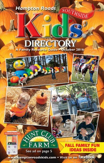 Hampton Roads Kids' Directory Southside Edition: October 2016