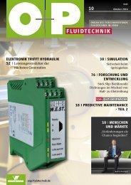 O+P Fluidtechnik 10/2016