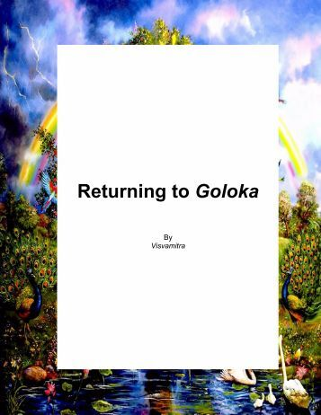 Returning to Goloka