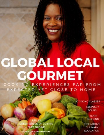 Global Local Gourmet Media Kit