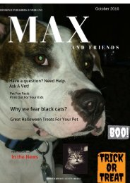 Max And Friends October 2016