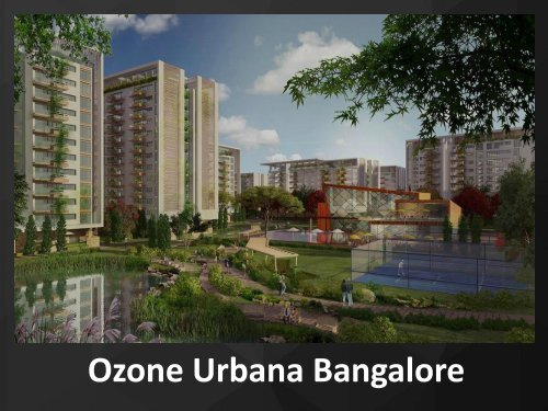 Ongoing Projects in Bangalore for Sale