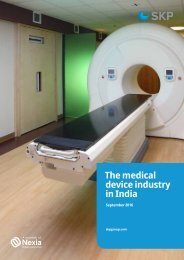 The medical device industry in India