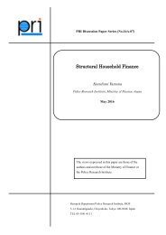 Structural Household Finance