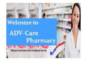 Online Canadian Prescription Drugs Provider