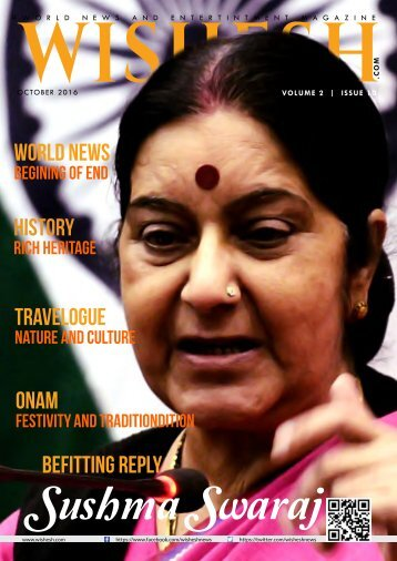 Wishesh Magazine October 2016