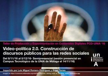 Video-política 2.0 Construcción de discursos públicos para las redes sociales