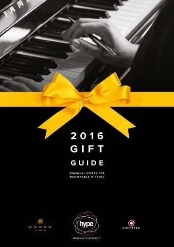 HYPE Gift guide 2016 AW