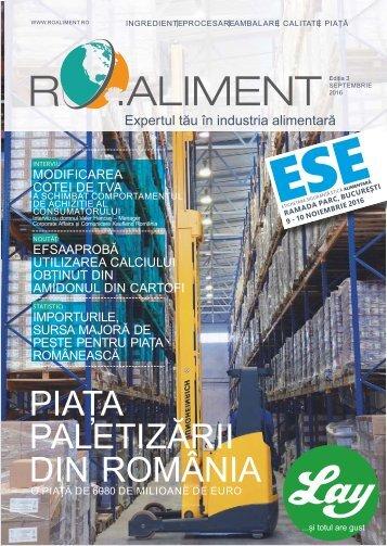 Revista RO.aliment editia 3 - expertul tau in industria alimentara