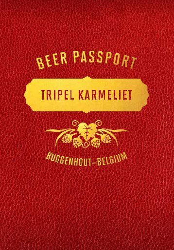 The Tripel Karmeliet Beer Passport