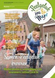Peelgeluk magazine