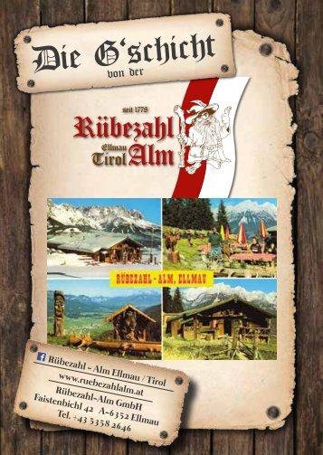 Die Geschichte von der Rübezahl-Alm