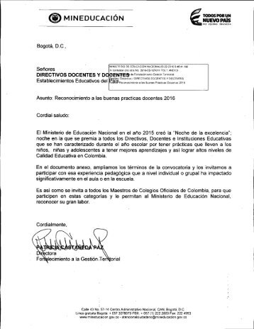 BUENAS PRÁCTICAS DOCENTES