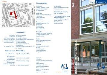 Sanierung der Bodelschwinghschule - Stadt Münster