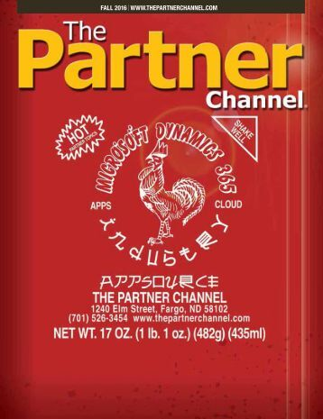 The Partner Channel Magazine Fall 2016