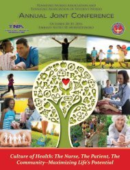 2016 TNA–TASN Joint Conference