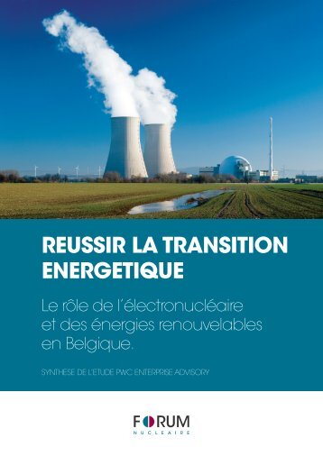 REUSSIR LA TRANSITION ENERGETIQUE