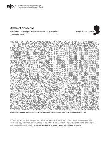 Abstract Nonsense - HyperWerk