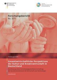 bmwi_Forschungsbericht 577 - Initiative Kultur- und Kreativwirtschaft