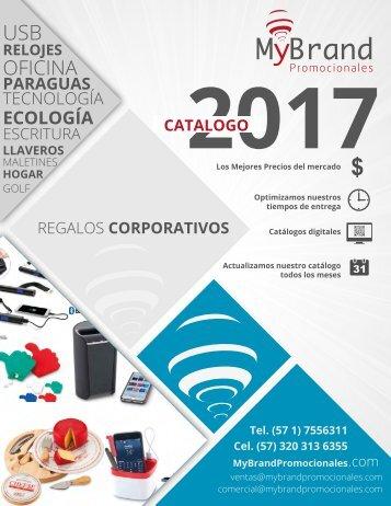 CATALOGO PROMOCIONALES - MYBRAND - 2017