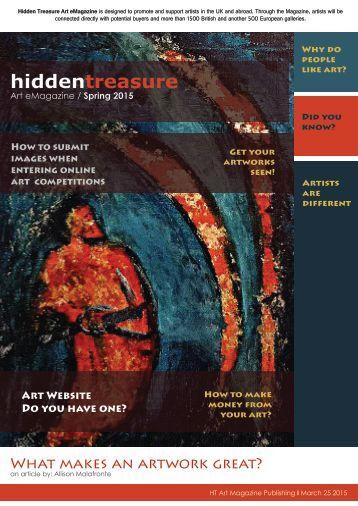 Hidden Treasure Art eMagazine / Spring  MARCH 2015