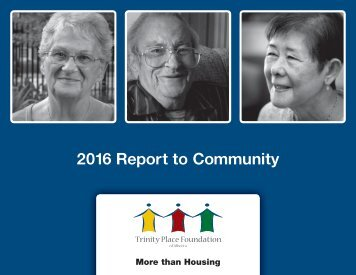 2016 Report to Community