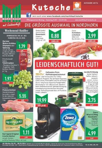 Marktkauf Kutsche KW40
