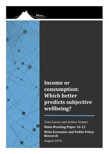 wellbeing?