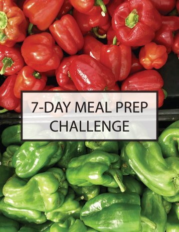 7 DAY MEAL PREP CHALLENGE COOKBOOK FINAL