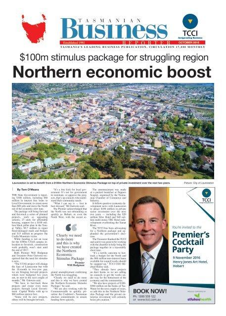 Tasmanian Business Reporter October 2016