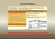 Katalog 2016: englisch + Franzoesisch Kfz/ Woerterbuch Elektrotechnik/ Mechatronik-Begriffe uebersetzen/ Lernkarten-software