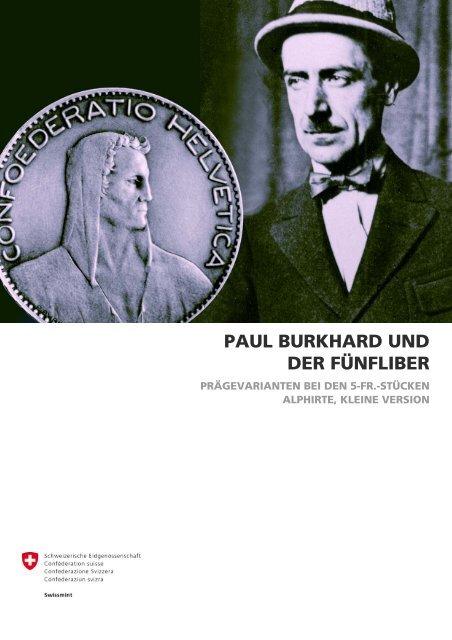 PAUL BURKHARD UND DER FÜNFLIBER - Swissmint