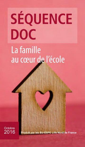 LA FAMILLE AU CŒUR DE L'ÉCOLE Octobre 2016 ◙ 1