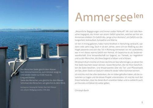 AMMERSEElen - Das Buch