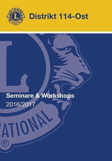 Lions Seminarfolder 2016-2017