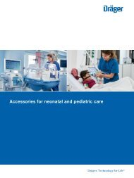 Accessories for neonatal and pediatric care catalogue