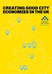 CREATING GOOD CITY ECONOMIES IN THE UK