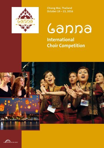 Chiang Mai 2016 - Program Book