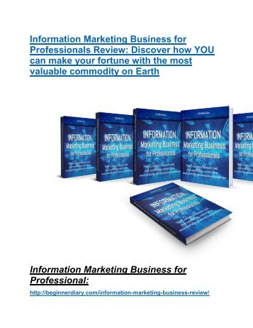 Information Marketing Business review-(SHOCKED) $21700 bonuses