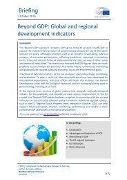 Beyond GDP Global and regional development indicators