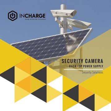 Incharge Security Camera Brochure 2.0