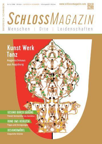 SchlossMagazin Bayerisch-Schwaben Oktober 2016 neu