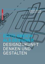 ERFOLGREICH ALS DESIGNER ... - Joachim Kobuss