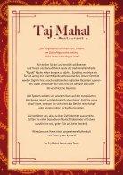 TajMahal Speisekarte - Page 3